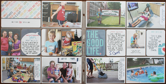 {365} Project Life 2013 | Week 35 by Shelly Jaquet