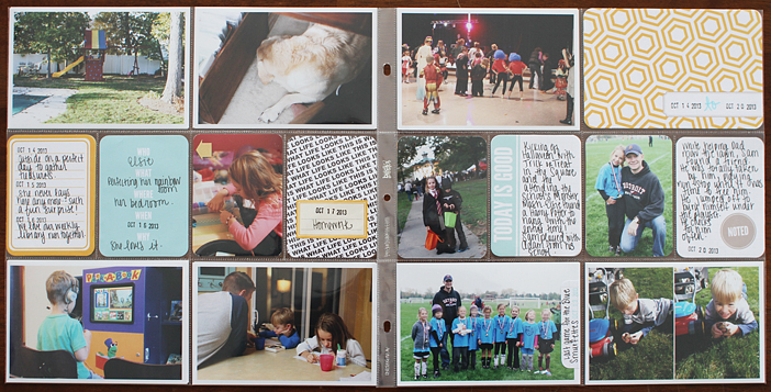 {365} Project Life 2013 | Week 42 by Shelly Jaquet