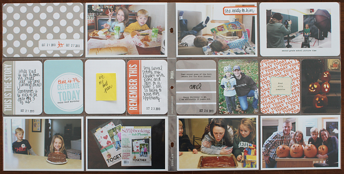 {365} Project Life 2013 | Week 43 by Shelly Jaquet