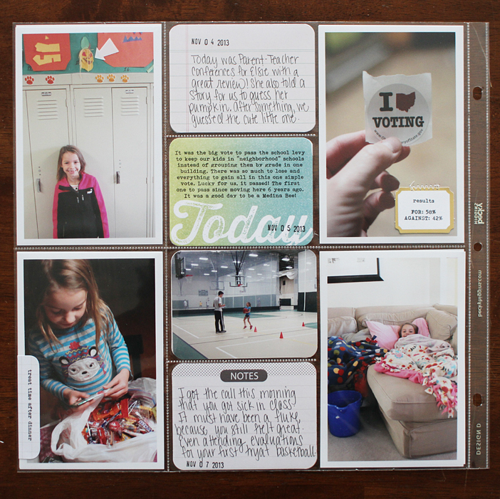 {365} Project Life 2013 | Week 45 by Shelly Jaquet