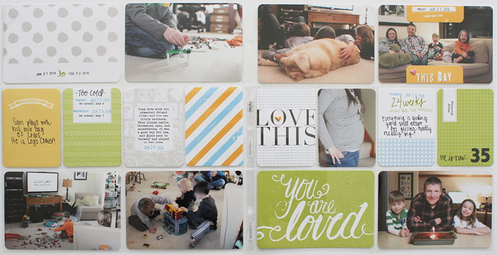 {365} Project Life 2014 | Week 5 by Shelly Jaquet