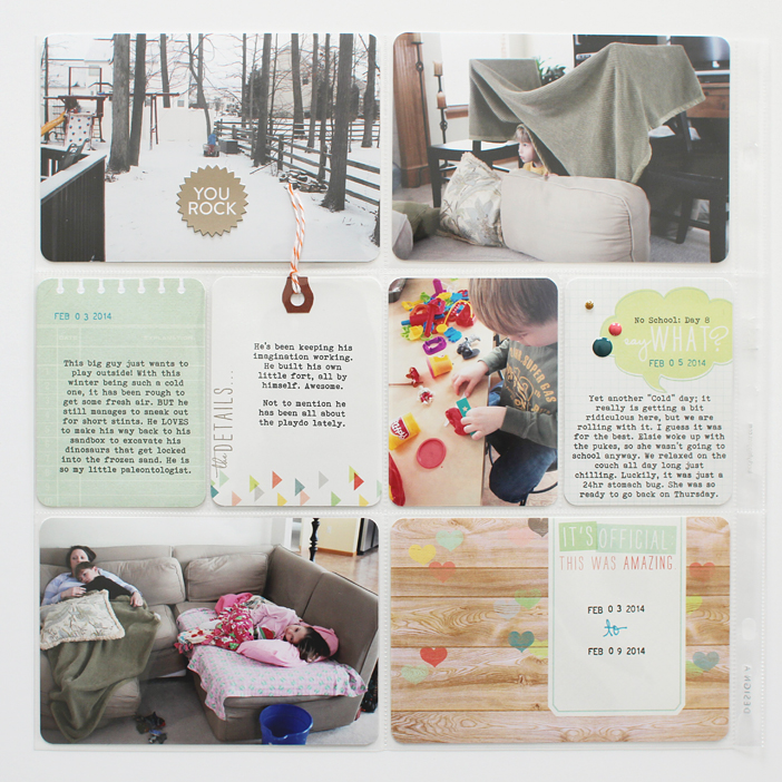 {365} Project Life 2014 | Week 6 by Shelly Jaquet