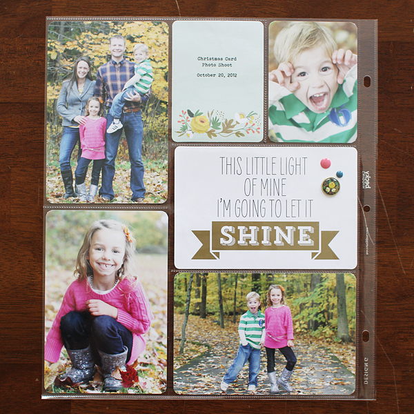 {365+1} Project Life 2012 | Christmas Card Photos by Shelly Jaquet
