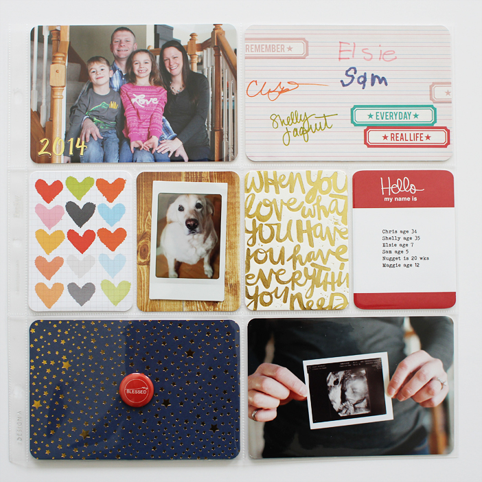 {365} Project Life 2014 | Cover Page by Shelly Jaquet