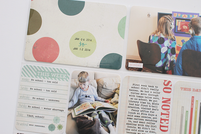 {365} Project Life 2014 | Week 2 by Shelly Jaquet