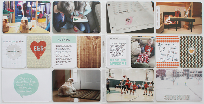 {365} Project Life 2014 | Week 4 by Shelly Jaquet