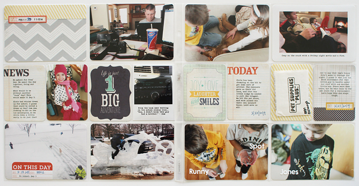 {365} Project Life 2014 | Week 8 by Shelly Jaquet
