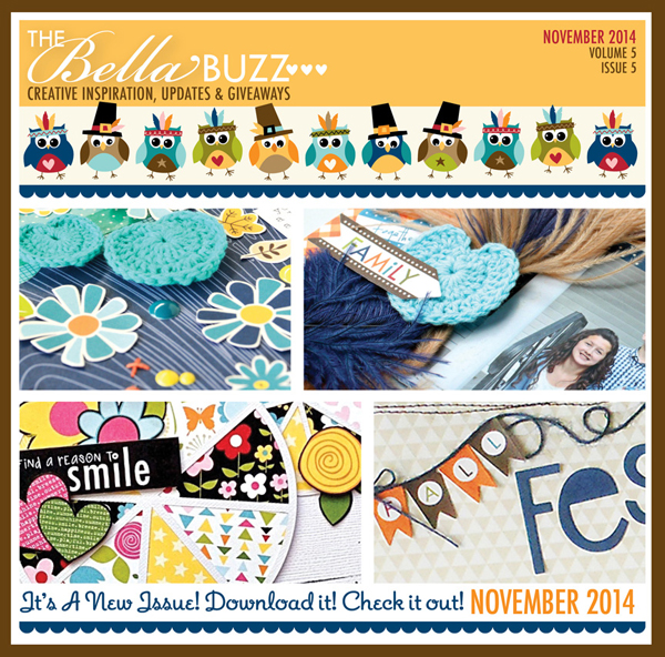 BELLA BUZZ NOVEMBER 2014