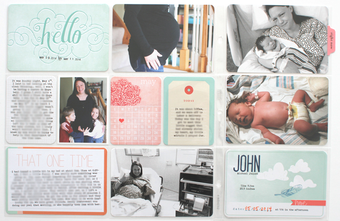 {365} Project Life 2014 | Week 19 by Shelly Jaquet