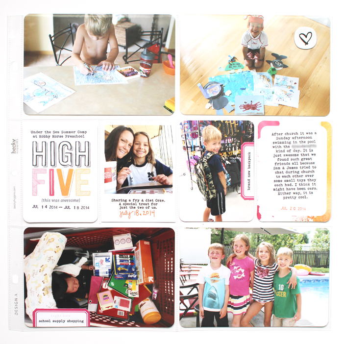 {365} Project Life 2014 | Week 29 by Shelly Jaquet