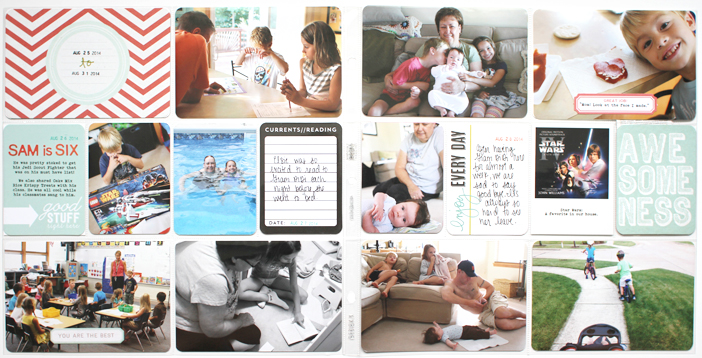 {365} Project Life 2014 | Week 35 by Shelly Jaquet