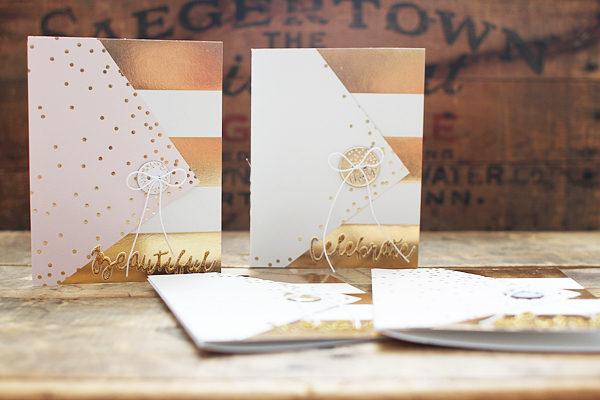 Simple Card Set using Fancy That by Shelly Jaquet for My Minds Eye
