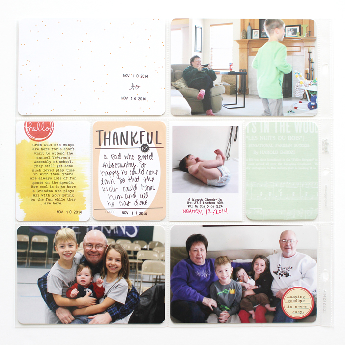 {365} Project Life 2014 | Week 46 by Shelly Jaquet