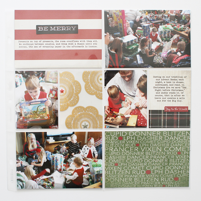 {Christmas 2011} Project Life Style Memories by Shelly Jaquet