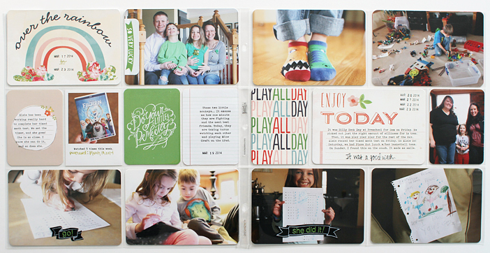 {365} Project Life 2014 | Week 12 by Shelly Jaquet