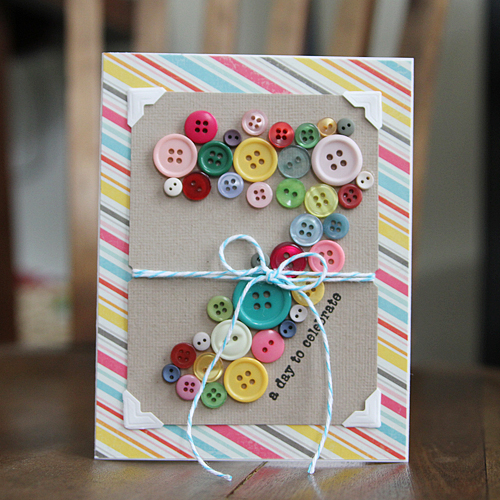 a day to celebrate {7} card by Shelly Jaquet