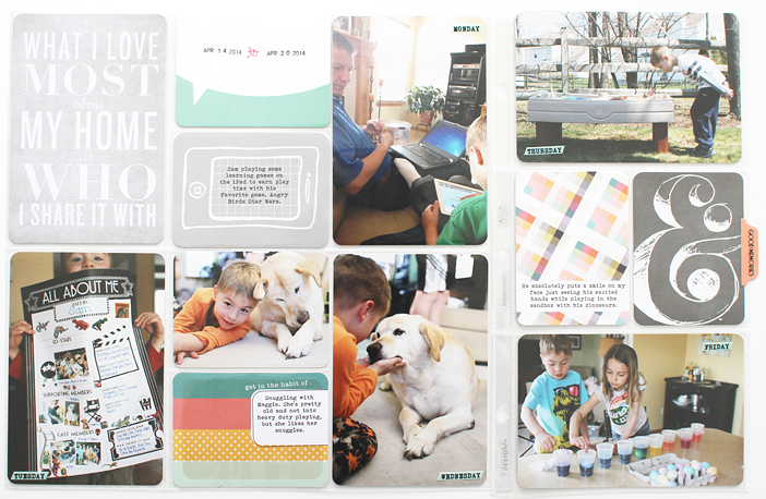 {365} Project Life 2014 | Week 16 by Shelly Jaquet