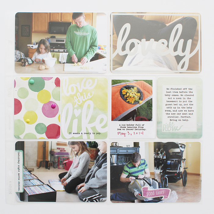 {365} Project Life 2014 | Week 18 by Shelly Jaquet