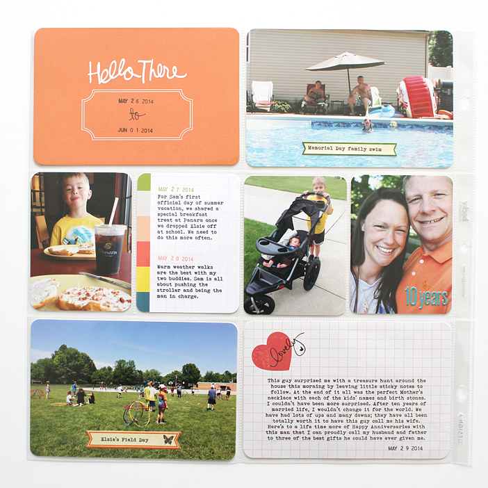 {365} Project Life 2014   Week 22 by Shelly Jaquet