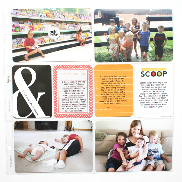 {365} Project Life 2014 | Week 32 by Shelly Jaquet