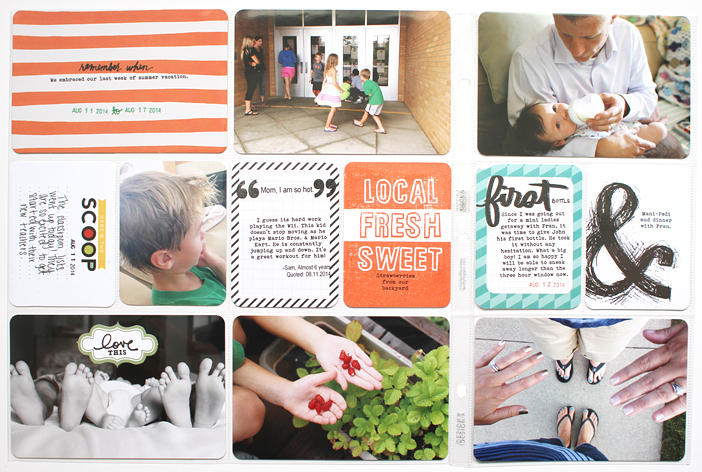 {365} Project Life 2014 | Week 33 by Shelly Jaquet