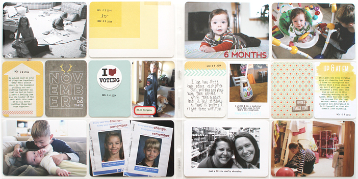 {365} Project Life 2014 | Week 45 by Shelly Jaquet