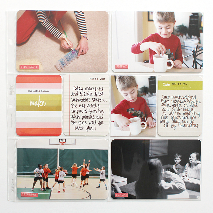 {365} Project Life 2014 | Week 11 by Shelly Jaquet