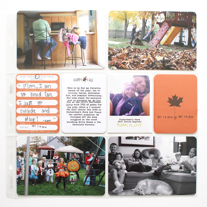 {365} Project Life 2014 | Week 42 by Shelly Jaquet