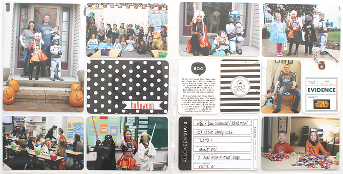 {365} Project Life 2014   Week 44 - Halloween by Shelly Jaquet