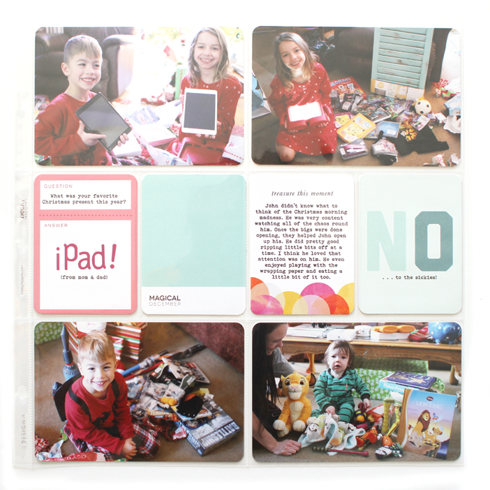 {365} Project Life 2014 | Week 52+ Documenting Christmas by Shelly Jaquet